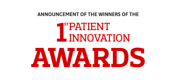 Announcement of the winners of the 1st Patient Innovation Awards