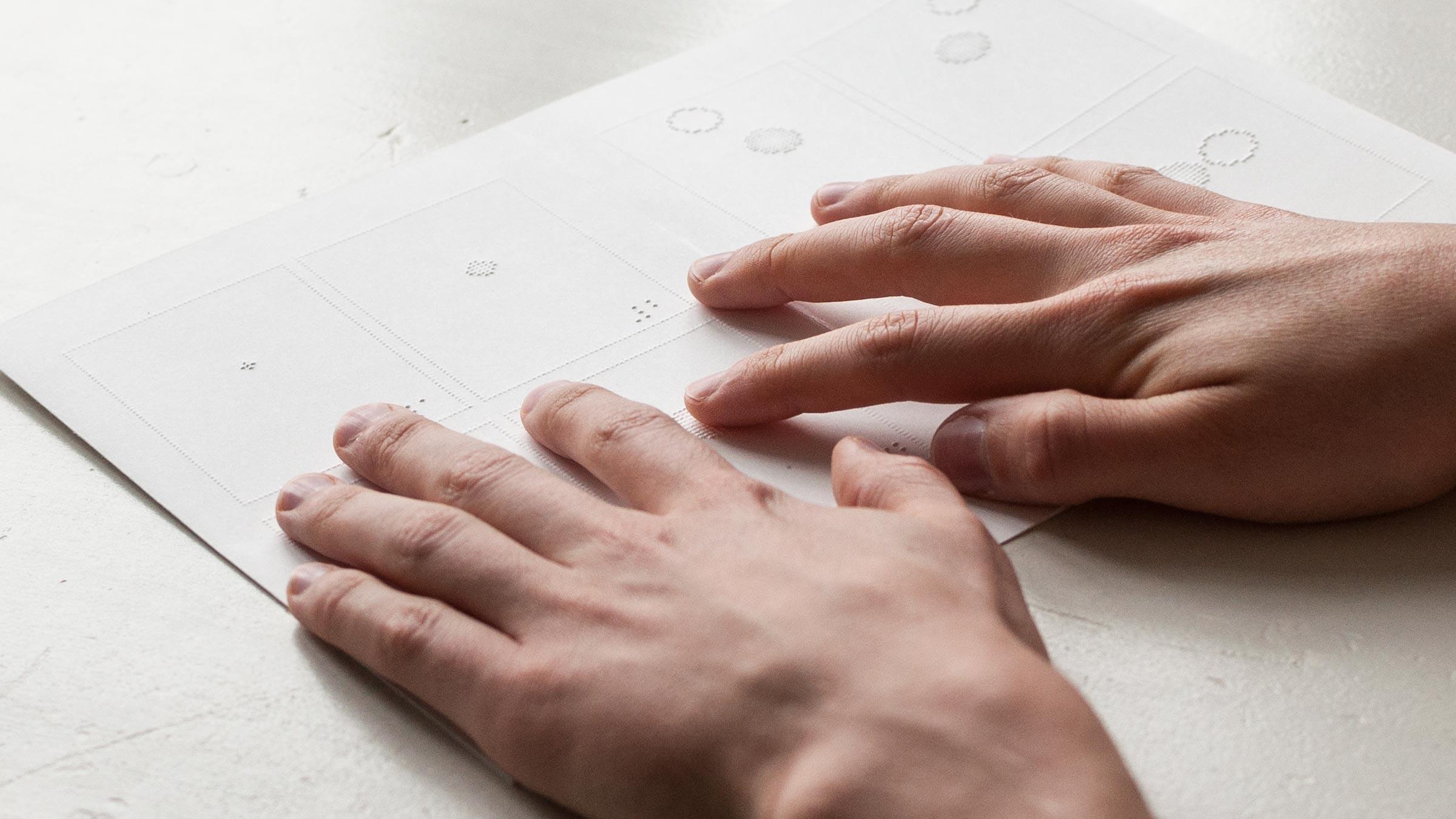 essay on helping blind people